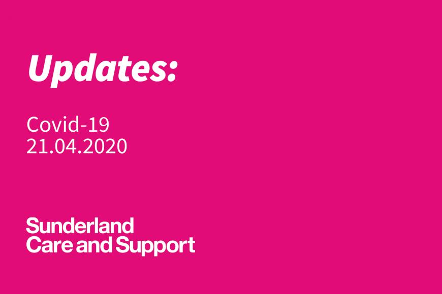 Covid-19 Update: 21.04.2020